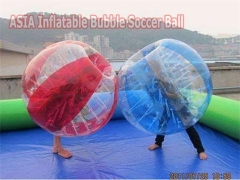 Crazy 5 Foot Half Color Bumper Balls