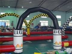 Painting Inflatable Race Track