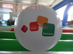 Mobistar Branded Balloon and Balloons Show