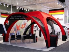 Red Color Inflatable Xgloo Tent