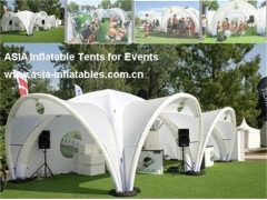 Inflatable X-Shape Tent