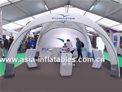 LED Lighting Inflatable X-Shape Dome Tent