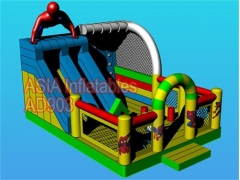 Spiderman bounce house kombi