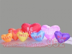Inflatable Hearts Decoration