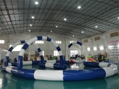 Airtight Inflatable Race Track