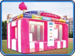 Candy Floss Inflatable Booth