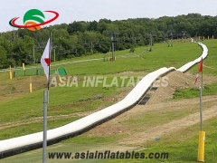 300m inflatable water slide the city