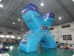 Inflatable X Shape Logo Model