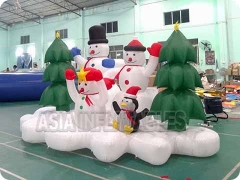 Inflatables Snow Man