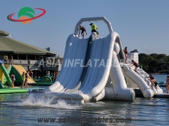 Newest Multifunction Inflatable Big Water Slide for Water Park Sports Games with cheap price for Sale