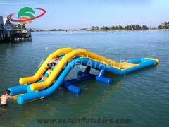 Stylish Inflatable Challenge Water Park Obstacle Course