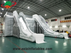 Beautiful appearance Customized Inflatable Slide Water Park Playground
