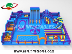 Moonwalk Castle Combo Inflatable Trampoline Park Inflatable Land Park Manufacturers
