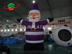 LED Lighting Inflatable Santa Claus