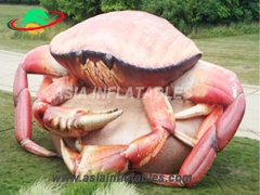 Beautiful appearance Custom Inflatable Crab For Decoration
