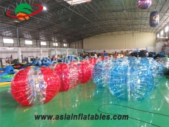 Half Color Bubble Soccer Ball